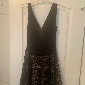 NWOT Black below the knee dress.